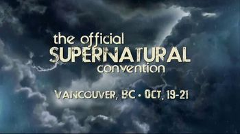 2018 Official Supernatural Convention TV Spot, 'Vancouver, BC' - Thumbnail 1