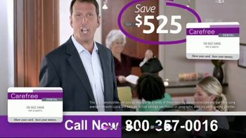 Carefree Dental Plan Card TV Spot, 'Instantly Pay a Lot Less at the Dentist' - Thumbnail 7