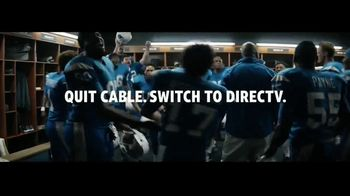 DIRECTV TV Spot, 'Locker Room' - Thumbnail 9