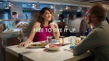 Norwegian Cruise Line Free at Sea TV Spot, 'Out Here You're Free: Five Offers' Song by Pitbull - Thumbnail 3