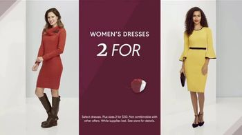 K&G Fall Fashion Event TV Spot, 'Women's Dresses, Suits and Shoes'