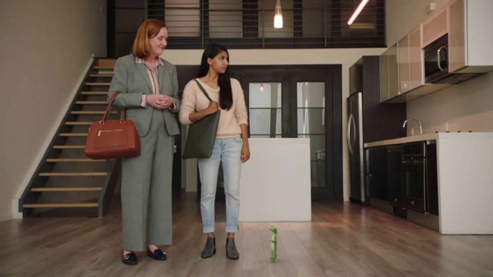 Geico Renters Insurance Tv Commercial, The Gecko Sells An -1205