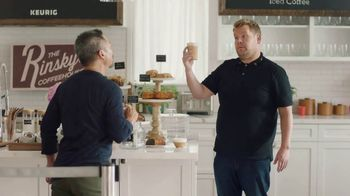 Keurig K-Café TV Spot, 'Variety' Featuring James Corden