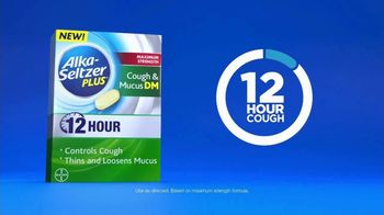 Alka-Seltzer Plus Maximum Strength Cough & Mucus DM TV Spot, 'Meeting' - Thumbnail 7