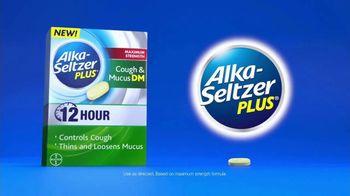 Alka-Seltzer Plus Maximum Strength Cough & Mucus DM TV Spot, 'Meeting' - Thumbnail 9