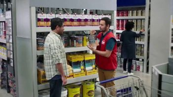 Lowe's TV Spot, 'Game Changer: Valspar Paints and Stains' - Thumbnail 1