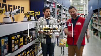 Lowe's TV Spot, 'Game Changer: Valspar Paints and Stains' - Thumbnail 7