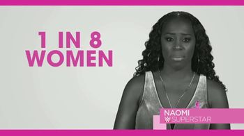Susan G. Komen for the Cure TV Spot, 'WWE Network: Continued Partnership' Featuring Natalya and Naomi - 3 commercial airings