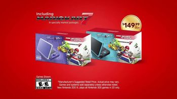 New Nintendo 2DS XL TV Spot, 'Mario Kart 7 Bundle: World of Fun' - Thumbnail 7