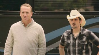Nationwide Insurance TV Spot, 'Jingle Sessions: Baby Shower' Featuring Peyton Manning, Brad Paisley - 6081 commercial airings