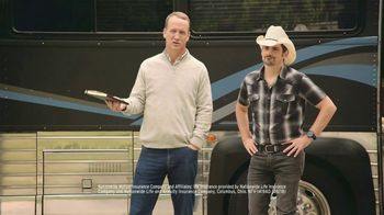 Nationwide Insurance TV Spot, 'Jingle Sessions: Baby Shower' Featuring Peyton Manning, Brad Paisley - Thumbnail 9