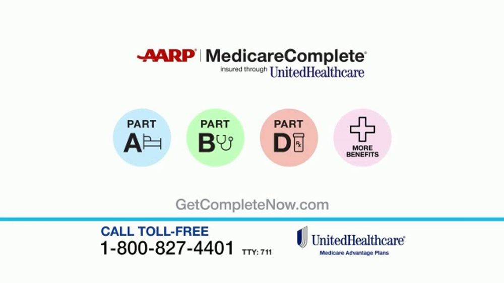 Unitedhealthcare Tv Commercial Aarp Medicare Complete Plan Annual