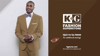 K&G Fall Fashion Event TV Spot, 'Men's Suits, Shirts and Shoes' - Thumbnail 7