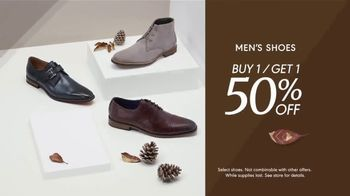 K&G Fall Fashion Event TV Spot, 'Men's Suits, Shirts and Shoes' - Thumbnail 5