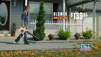 STIHL BG 50 Blower and MS 170 Chain Saw TV Spot, 'Real Solution' - Thumbnail 7