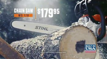 STIHL BG 50 Blower and MS 170 Chain Saw TV Spot, 'Real Solution' - Thumbnail 8