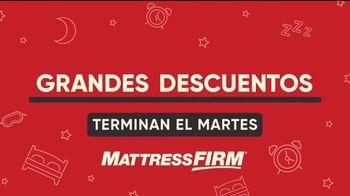 Mattress Firm TV Spot, 'Grandes descuentos: colchón de Serta' [Spanish]