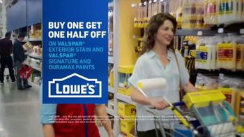 Lowe's TV Spot, 'Game Changer: Buy One Get One Half Off' - Thumbnail 10