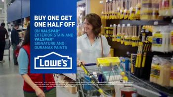 Lowe's TV Spot, 'Game Changer: Buy One Get One Half Off' - Thumbnail 9