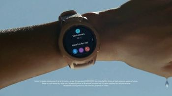 Samsung Galaxy Watch TV Spot, 'Stay Connected: Buy One, Get One' Song by Rita Ora - Thumbnail 6