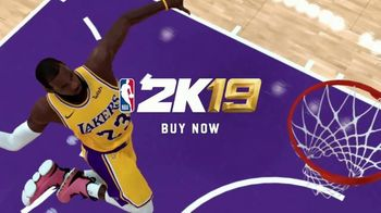 NBA 2K19 TV Spot, 'They Will Know Your Name' Featuring LeBron James, Travis Scott - Thumbnail 10