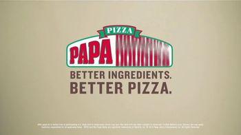 Papa John's X-Large 2-Topping Pizza TV Spot, 'Share It' - Thumbnail 10