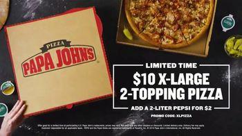 Papa John's X-Large 2-Topping Pizza TV Spot, 'Share It' - Thumbnail 9