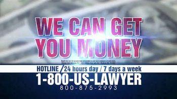 1-800-US-LAWYER TV Spot, 'Need Money Now?'
