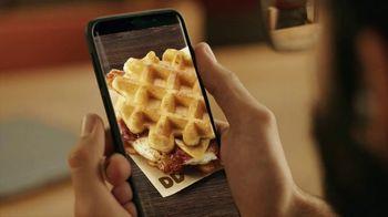 Dunkin' Donuts Belgian Waffle Sandwich TV Spot, 'Library' - Thumbnail 4