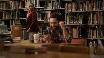 Dunkin' Donuts Belgian Waffle Sandwich TV Spot, 'Library' - Thumbnail 5