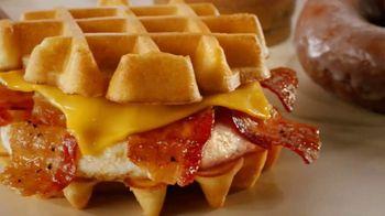 Dunkin' Donuts Belgian Waffle Sandwich TV Spot, 'Library' - Thumbnail 6
