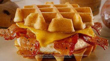 Dunkin' Donuts Belgian Waffle Sandwich TV Spot, 'Library' - Thumbnail 7
