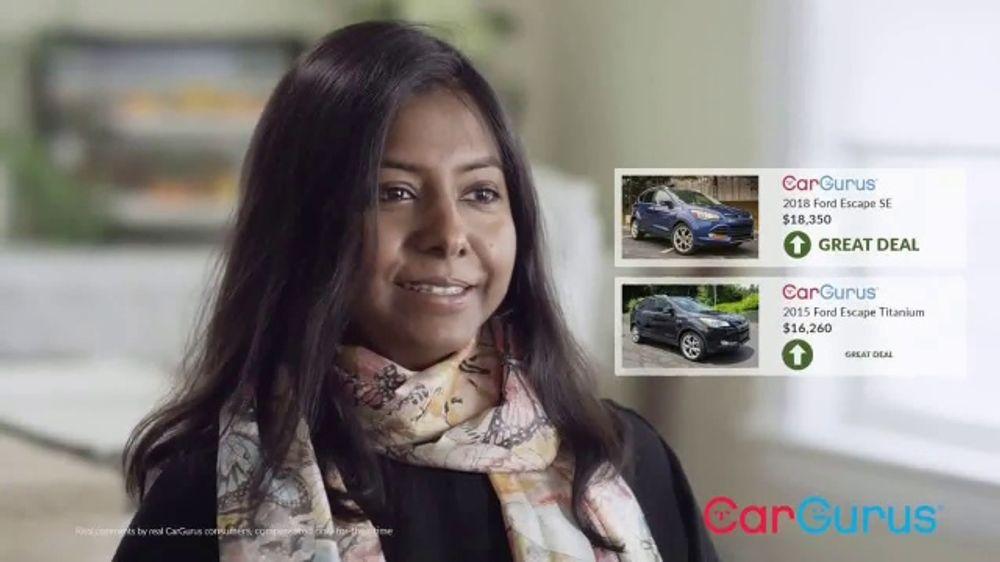 Cargurus Tv Commercial Testimonials Ispot Tv