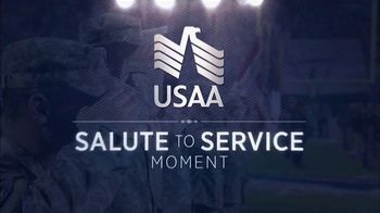 USAA TV Spot, 'Salute to Service: Air Force Flyover' - Thumbnail 1
