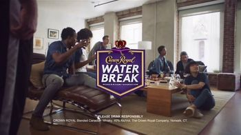 Crown Royal TV Spot, 'Have a Water Break at Home' - Thumbnail 8