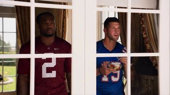 Nissan TV Spot, 'Heisman House: Bo Watching' Featuring Derrick Henry, Tim Tebow [T1] - 4 commercial airings