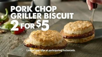 Bojangles' Pork Chop Griller Biscuit TV Spot, 'A Whole Lot of Flavor' - Thumbnail 8