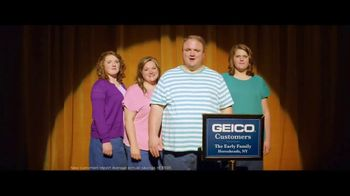 GEICO TV Spot, 'An Unexpected Lawn Mowing Win' - 8966 commercial airings