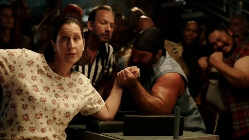 Roadside Assistance State Farm >> GEICO TV Commercial, 'Arm Wrestling and Basketball ...