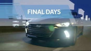 Hyundai Model Year-End Clearance Sale TV Spot, 'Final Days: Last Chance to Save' [T2] - Thumbnail 8