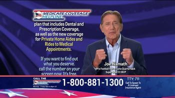 Medicare Coverage Helpline TV Spot, 'New Benefits' Featuring Joe Namath - Thumbnail 6