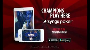 Zynga Poker TV Spot, 'Accept the Challenge' - Thumbnail 7