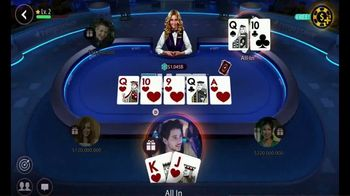 Zynga Poker TV Spot, 'Accept the Challenge'