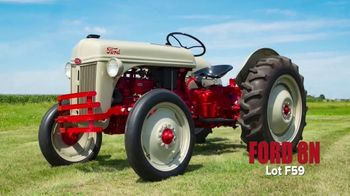 Mecum Gone Farmin' Fall Premier TV Spot, 'Ford 8N'