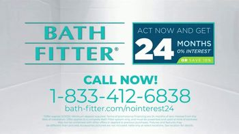 Bath Fitter TV Spot, 'No Interest for 24 Months' - Thumbnail 9