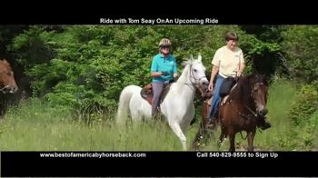 Best of America by Horseback TV Spot, 'Ride With Tom' - Thumbnail 7