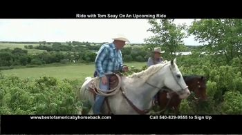 Best of America by Horseback TV Spot, 'Ride With Tom' - Thumbnail 1