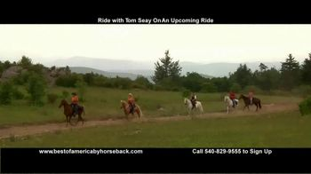 Best of America by Horseback TV Spot, 'Ride With Tom' - Thumbnail 6