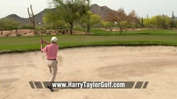 Harry Taylor Golf Series 405 Dimple Series Wedge TV Spot, 'Out of the Bunker: $67' - Thumbnail 7