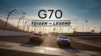 2020 Genesis G70 TV Spot, 'Track' Featuring John Legend, Chrissy Teigen [T2] - 79 commercial airings